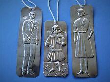 """Ex Voto,ALt, verwendet -3-griechisch tamata in Silber.900: """"Mann- Frau-Mädchen """""""
