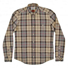 Barbour Heritage Duncan Shirt Mens Cotton Check Large Long Sleeve £70