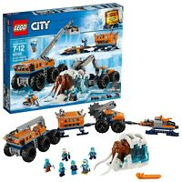 New LEGO City Arctic Mobile Exploration Base 60195 Mammoth, Snowmobile + More!!!