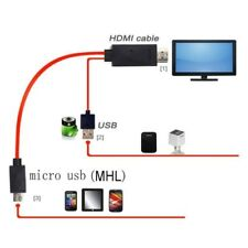 MHL Micro USB to HDMI Cable Adapter Cord for Samsung Galaxy Tab Pro 12.2 SM-T900