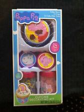 Treat Street NEW PEPPA PIG Cupcake Decorating Kit Makes 24 Cupcakes