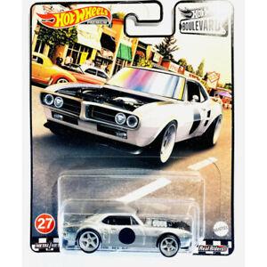 Hot Wheels Premium - Custom '67 Pontiac Firebird, Silver - 2021 Boulevard #27