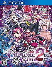 Criminal Girls 2 -[PSVita] Free Shipping with Tracking number New from Japan