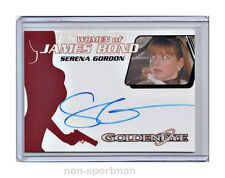 JAMES BOND ARCHIVES 2014 AUTO WA51 SERENA GORDON
