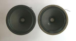 1 Pair Fullrange Speaker Siemens Klangfilm LSP 14 g