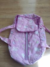 Mini Chicco pink  baby dolly carrier - Pre-owned
