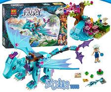 ELVES  Water dragon  Adventure Tour pterosaur Building Toys Blocks 214pcs #10500