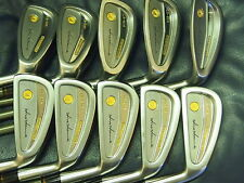 Honma Mens LB606 H&F golf iron 18K gold 4stars Excellent So Nice!