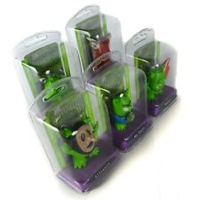The Bogies Figurine  Key-chain Battlecard Lot Booger Green Plastic Toy (2)