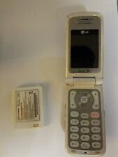 New listing Lg Fusic Lg550 - Black White (Sprint) Cellular Phone