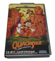 Quackshot Starring Donald Duck Sega Mega Drive PAL *Complete* Silver Edition