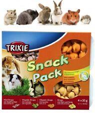 Rabbit Guinea Pig Snack Pack Wild Berry Carrot Vegetable Milk Honey Treat Drops