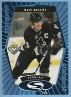 1998-99 UD Choice StarQuest Blue #SQ29 Mark Messier Vancouver Canucks