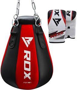 RDX Maize Gefüllt Sandsack MMA Boxhandschuhe Kick Boxing Muay Thai Angle AT