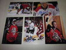 LOT OF 12 AUTOGRAPHED 2017 SPRINGFIELD THUNDERBIRDS 4X6 PHOTOS-ALL DIFFERENT