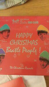 "Christmas Records 7"" Box Set Vinyl Recored The Beatles 0602557914856"