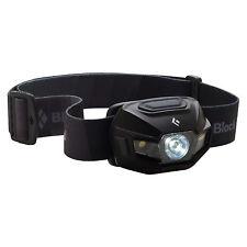 Black Diamond Revolt Headlamp Matte Black 130 Lumens USB Rechargeable AAA Hybrid