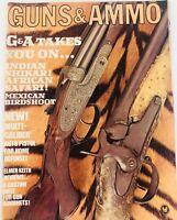 Vintage GUNS & AMMO Magazine August 1967 African Safari