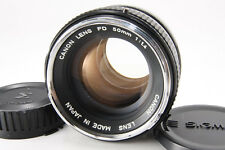 Canon FD 50mm f/1.4 Fixed Prime Standard Lnes [Excellent] w/ Cap From Japan