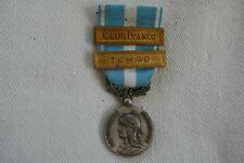 Décoration médaille coloniale d'outre mer Barrette Mauritanie Tchad