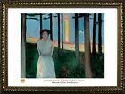 FRAMED Summer Nights Dream by Edvard Munch 24x32 Museum Art Print Poster