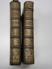 RARE ! LE ROMAN de la ROSE, G.de LORRIS/J.de MEUNG- 1735- Tomes 2 et 3