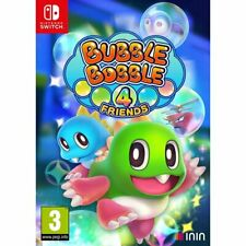 BUBBLE BOBBLE 4 FRIENDS NINTENDO SWITCH NUOVO SIGILLATO GIOCO PUZZLE PALLINE 80s
