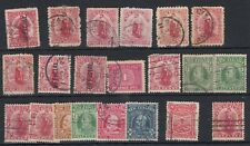 New Zealand KEVII Unchecked Collection Of 21 Fine Used JK207