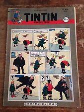 journal tintin 134 France (1951) couv Hergé RARE