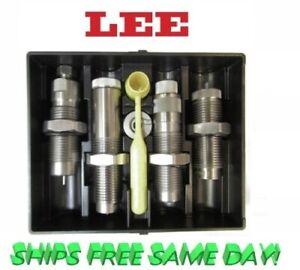 Lee 4 Die Set for 350 Legend with Collet Style Crimp die 90078 + 90445, New!