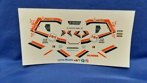 1:50 Scale JST Scania S Series Clear Waterslide Decals, Code 3. Auction