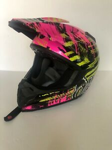 O'Neal Racing O'Neal Neon 5 Series Crypt Helmet Youth Small Size