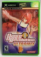 Dance Dance Revolution Ultramix Konami Microsoft Xbox Complete w/ Manual