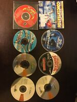 Lot of 8 Vintage PC CD-Rom Games/Educational
