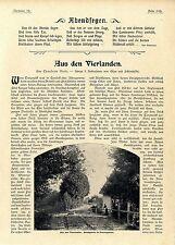 Aus den Vierlanden Neuengamme Vierländer in Nationaltracht Histor.Memorabile1903