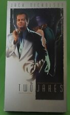 THE TWO JAKES VHS 1990 Jack Nicholson Faye Dunaway Madeline Stowe