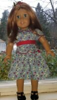 American Girl Emily Bennnett Doll Molly's Best Friend no box in Meet Dress