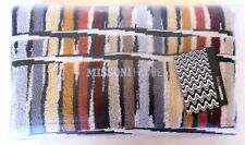 MISSONI HOME  BATH TOWEL GIFT BRANDED PACKAGING JEFF 160 KNITTED STRIPES