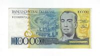 100000 Cruzeiros Brasilien 1985 C176 / P.205 UNC
