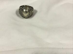 1959 georgetown college mens sterling ring