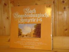 Bach Brandenburg Concertos 1-6 BAUMGARTNER SUK Violin & Viola EURODISC 2 LP MINT