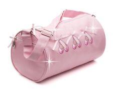 Girls Pink Sparkly Ballet Dance Shoulder Bag By Katz Christmas Birthday KB99