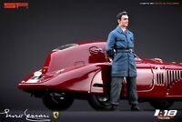 1:18 Young Enzo Ferrari  VERY RARE!!! figurine , NO CARS !! for Alfa Romeo by SF