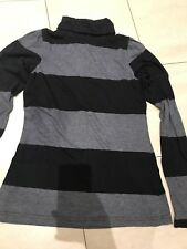 Ladies Warehouse Stripe Polo Neck Size 12