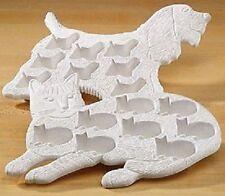 DOG Shaped Flexible rubber mold tray DOG