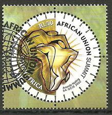Südafrika - Gründung  afrikanische Union gestempelt 2002 Mi. 1446