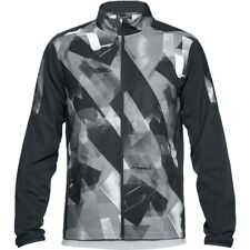 Under Armour Men's UA Storm Launch Printed Jacket - Large - Charcoal - New