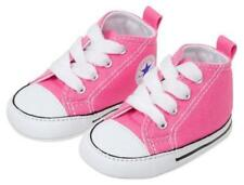 CONVERSE NEWBORN CRIB BOOTIES Pink 88871 FIRST ALL STAR BABY SHOES SZ 1-3