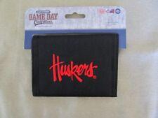 Nebraska Cornhuskers Bifold Wallet Black Bi-fold Huskers