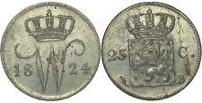 Netherlands - 25 Cent 1824 Brussel